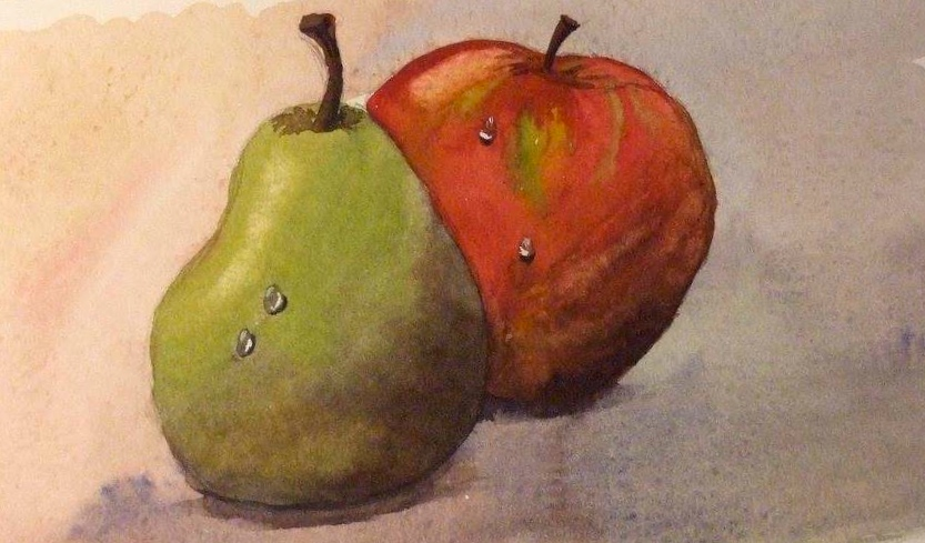 Kentish apple and pear           Image: John Coupe