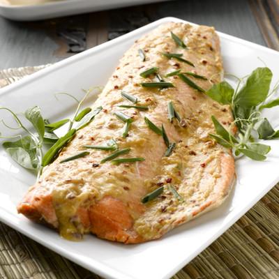 Grilled Alaskan salmon (Image; John Coupe)