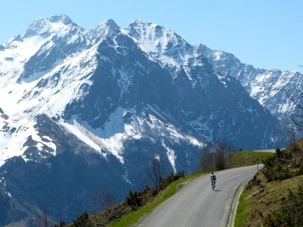 Hill climbing in the Midi-Pyrénées