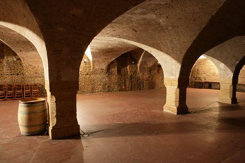 Cellars in the Beaujolais region