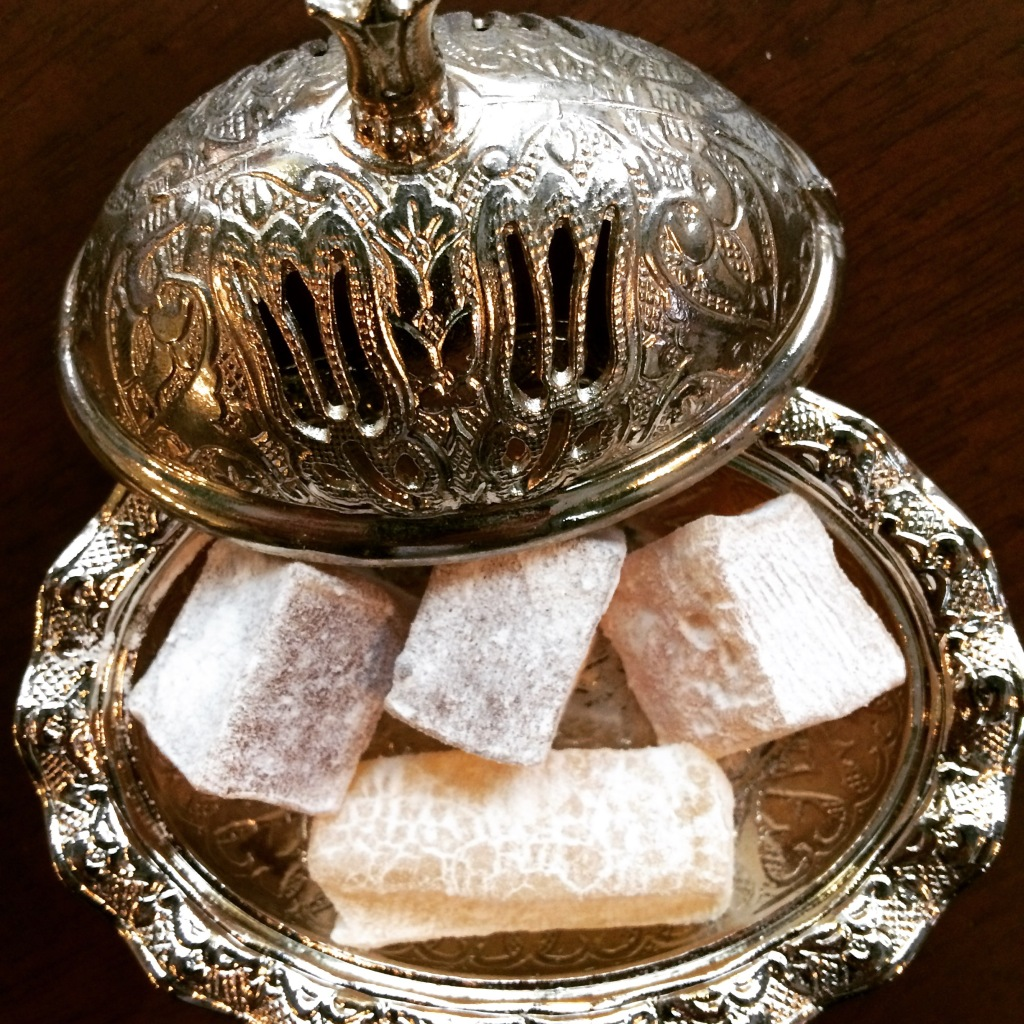 Turkish Delight adds sweetness to the coffee