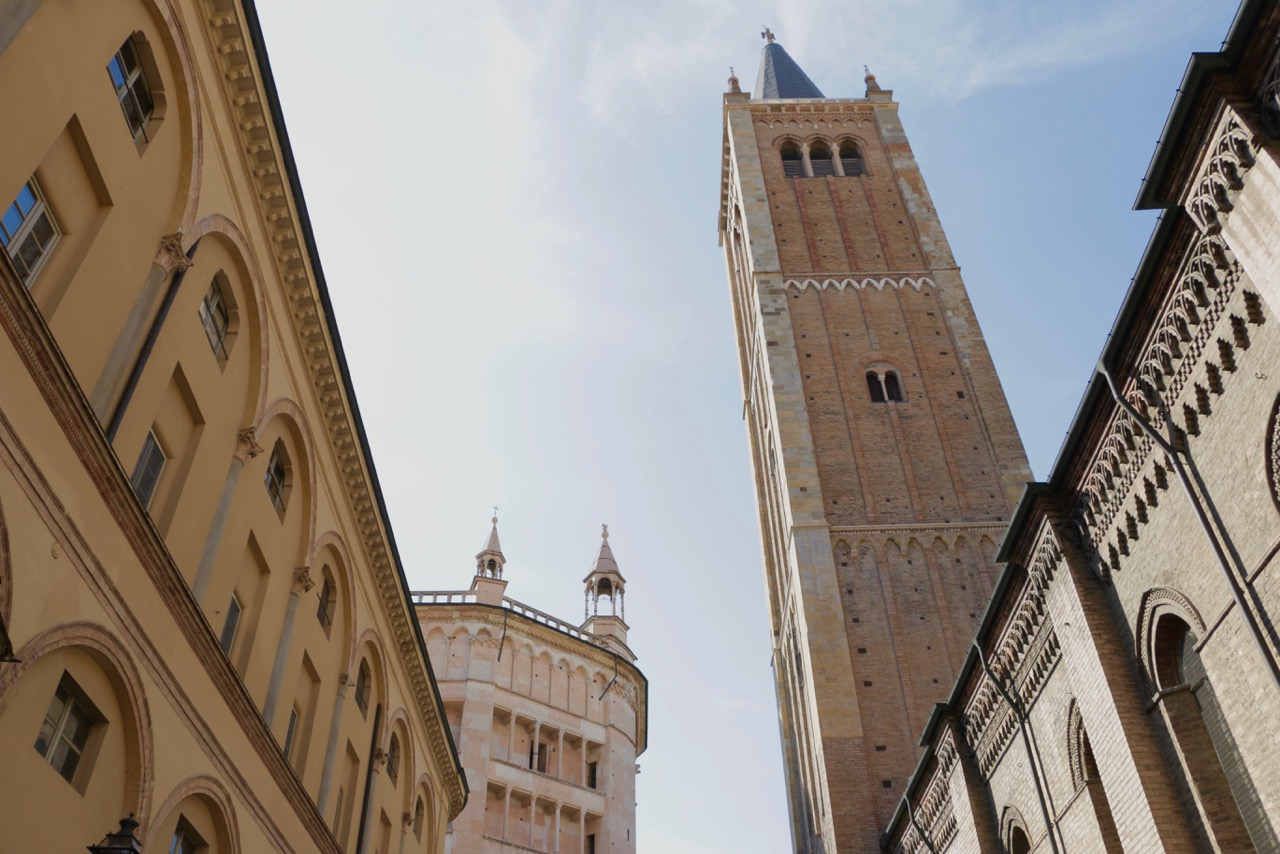 Medieval towers in Parma, Italy