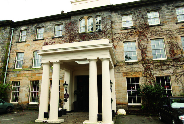 Hotel du Vin in Tunbridge Wells, a grand entrance